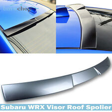 For Subaru G1U Ice Silver WRX 4th STI Sedan V Type Roof Spoiler Wing Painted