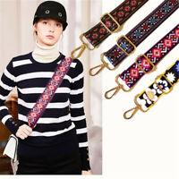 Women Nylon Colorful Shoulder Bag Chain Replacement Strap Adjustable Belt US