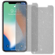2x Diamond Sparkling Bling Screen Protector Film Guard for Apple iPhone X (2017)