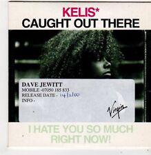 (FI854) Kelis, Caught Out There - 2000 DJ CD