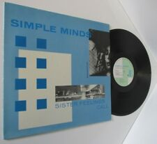 Simple Minds-Sister Feelings Call-OVED 2-Vinyl-Lp-Record-Album-New Wave-1981