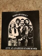 The Who Who's On First Vinyl 2 Lps Handen Hoch Records 1976