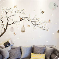 3D Flower Tree Removable Mural Vinyl Decal Wall Sticker Art For Room Home WU