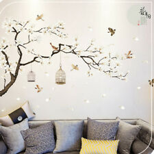 3D Flower Tree Removable Mural Vinyl Decal Wall Sticker Art For Room Home BH