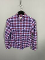 JACK WILLS Flannel Shirt - Size UK8 - Check - Great Condition - Women's