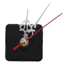 Clock Movement Mechanism with Silver Hour Minute Red Second Hand S5E4