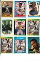 Lot of (80) Barry Bonds Baseball Cards w/ Rookie - MLB Pirates - Wow!