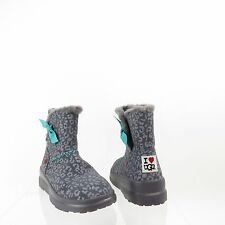 Women's I Heart UGG Knotty 1006213 Shoes Purple Suede Winter Boots Size 5 M NEW!