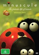 Minuscule - The Private Life Of Insects : Season 2 : Part 1 (DVD, 2012) LIKE NEW