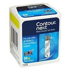 Contour Next Blood Glucose Test Strips 50 Ct Exp 12/2020+--Depend On Us!!!