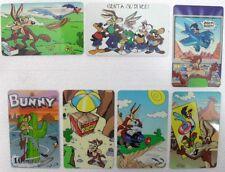 """""""I LOONEY TUNES""""-serie di 7 carte-CARTA INTERNAZIONALE PREPAID CALLING-sc 02/98"""