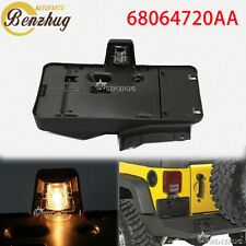 Fit Jeep Wrangler 07-17 With Light 68064720AA Rear License Plate Holder Bracket
