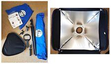 Lastolite Ezybox Hotshoe Softbox 38cm x 38cm Kit mit Manfrotto Stativ