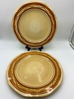 LAURIE GATES LG RANCH DINNER PLATES SET OF 4