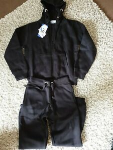 Kids Boys Girls Tracksuits A2Z ALL BLACK SIZE 9/10Hooded Top Bottom Jogging Suit