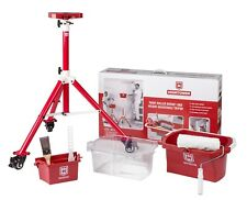 HighTower Tripod Painting System is a height adjustable With roller paint bucket