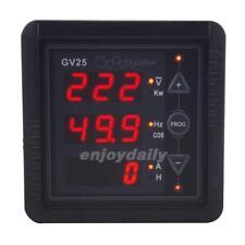 MULTI FUNCION AC VOLTAGE Hz AMPERE Kw COS ACCUMULATING TIME DIGITAL PANEL METER