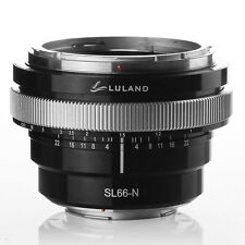 for Rolleiflex/Rollei SL66 Lens to Nikon F Mount Camera Adapter Luland SL66-N