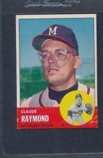 1963 Topps #519 Claude Raymond Braves EX *1585