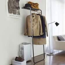 Yamazaki Porte-Manteaux Support de Garde-Robe à Appuyer Dépôt Noir