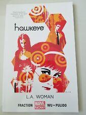 HAWKEYE Vol 3 L.A. WOMAN TPB COLLECTION 2014 MARVEL COMICS MATT FRACTION! WU!