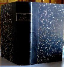 PABON Louis - Traité des Tribunaux de Simple Police - Marchal, Billard, 1899.