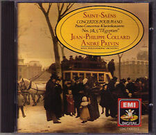 Jean-Philippe Collard: saint-saens piano concerto no. 3 5 Previn CD MADE IN JAPAN