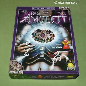 Das Amulett - Komplett 1A Top - Taktik-Spiel von Alan R. Moon Goldsieber ©2001