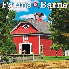 Farms & Barns 2021 Wall Calendar (Free Shipping)