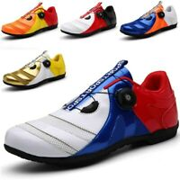 Road Cycle Shoes MTB Men Sneakers Bike Mountain Triathlon Non Locking Sport Shoe