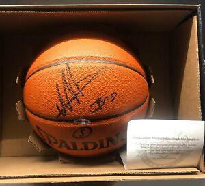 TIMOFEY MOZGOV Autographed Spalding Basketball Indoor Upper Deck C.O.A.