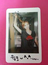 AFTER SCHOOL NANA VIRGIN Official Photo Card Korea Press Genuine ORANGE CARAMEL