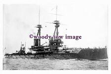 rs0022 - Royal Navy Warship - HMS Bellerophon - photograph