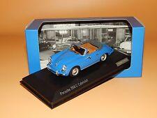 Porsche 356 C CABRIOLET 1963 in Bleu WAP 020 550 0 H de Minichamps 1:43 neuf dans sa boîte