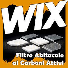 Filtro abitacolo per Opel Corsa D 1.3 CDTI 1.2 Carboni attivi WIX FILTERS nuovo
