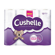 Cushelle Toilet Roll White (Pack of 12) 1102089