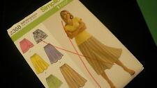 Simplicity 1 hour skirt sew pattern No 2368 UNCUT H5 6-14