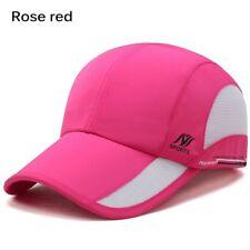 New Men Women Outdoor Sport Baseball Mesh Hat Running Visor Quick-drying Cap2018