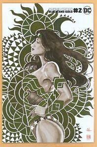WONDER WOMAN BLACK AND GOLD #2 DAVID MACK 1:25 FOIL VARIANT DC COMICS RARE L@@Ka
