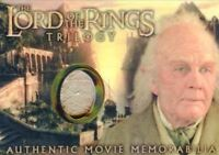 Lord of the Rings Trilogy Chrome Bilbo's Grey Havens Waistcoat Costume Card