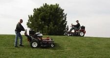 Trac Vac Z Walk Behind & Ride on Deck Zero Turn Mower Briggs 25hp 48""
