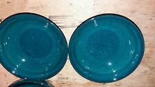 DENBY GREENWICH GREEN SMALL SIDE BOWLS 5 INCHES X 1.75 INCHES X 2 NEW