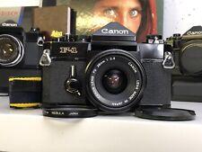 Canon F-1 F 1 Profi 35mm Alt SLR Kit Analoge Kit Canon Lens FD 28mm 1:2.8 F 2 8