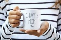 Dog Mom Mug Personalized Gift For Dog Mom New Puppy Personalized Pet Gift