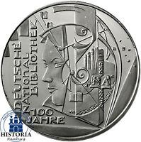 Deutschland 10 Euro Gedenkmünze 2012 bfr. Deutsche Nationalbibliothek