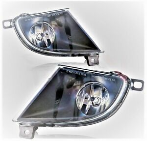Left & Right fog lights 2008 2009 2010 BMW E60 528I 530I 535I 550I sedan wagon