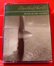 Agatha Christie Death In The Clouds Hercule Poirot 2-Tape Audio Bk David Timson