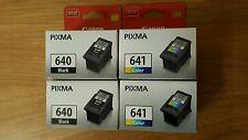 CANON PG640+CL641 2x TWIN PACK Ink Cartridge MG2160/MG3160/MG4160/MX376/MX436
