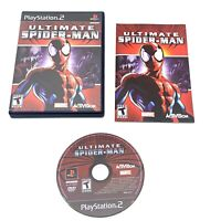 Ultimate Spider Man PS2 PlayStation 2- No Scratches, Perfect Condition! TESTED