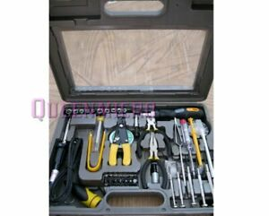 NEW 56 Piece Tool Kit Professional Computer PC Technician Handyman Repair Solder